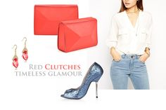 Any simple outfit can glow with elegance next to a feminine clutch; this leather purse is perfect for any occasion, especially if you want to highlight your refined, delicate style. Pair it with jeans and a suave blouse and your natural beauty will surely capture all eyes.