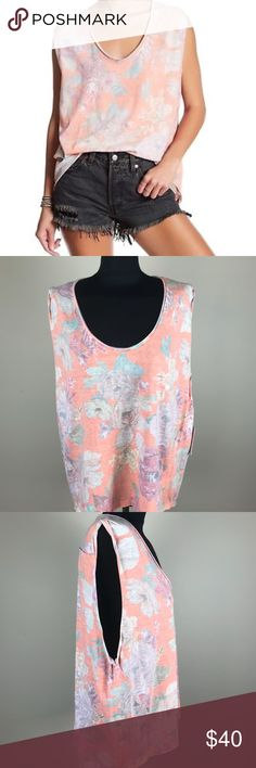 Free People Gardenia Tee NWT New with tags Free People Gardenia hi-low tee. Free People Tops Tees - Short Sleeve