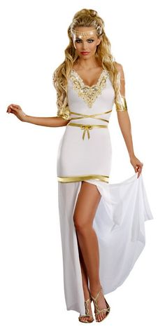 Women's Dreamgirl Goddess of Love Aphrodite Costume - Candy Apple Costumes - Greek & Roman Costumes
