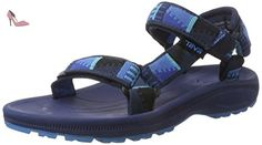 Teva Hurricane 2 Y's, Sandales de Randonnée Garçon, Bleu (Peaks Brightblue/Gre), 37 EU - Chaussures teva (*Partner-Link)