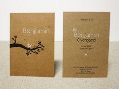 Geboortekaartje Benjamin, vogeltje, bird, jongen