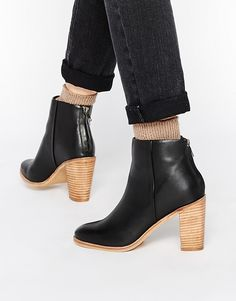 Image 1 - ASOS - EDUCATION - Bottines en cuir