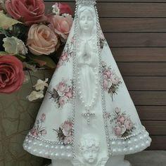 Holy Mary, Bottle Art, Catholic, Decoupage, Santa, Victorian, Sacramento, Veronica, Dresses