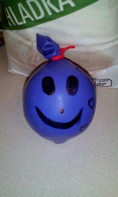 Antistresový míček - balonky a mouka