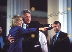 Bill Hillary Picture - Bill  Hillary Clinton Victory in Little Rock 1131992 16502 Photo by James ColburnipolGlobe Photos Inc