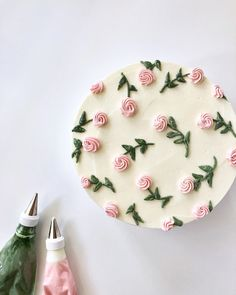 Pretty Birthday Cakes, Pretty Cakes, Cute Cakes, Beautiful Cakes, Sweet Cakes, Amazing Cakes, Cake Decorating Techniques, Cake Decorating Tips, Cake Decorating Frosting