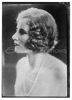 Catherine Countess Carnarvon..in the 20's..an American with no $$ but he still married her