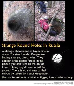 Mysterious Round Holes…