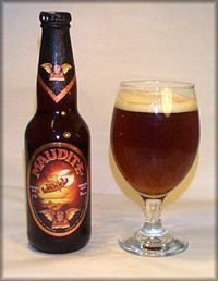Unibroue's Maudite (Damned) - Amber ale, frothy head, sweet, slightly citrus, crisp finish, 8% ABV. My rating - 8.9