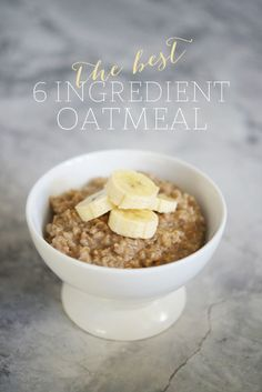 Best Oatmeal Ever - Cupcakes & Cashmere