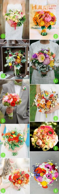 Ladies her is  some wedding bouquet inspiration. This the Brooklyn Brides top 10 picks. Enjoy!