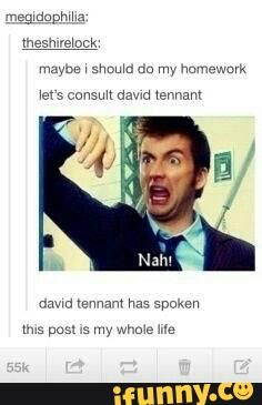 Let's watch doctor who instead of doing homework