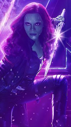 Animated Video GIF created by Sherilynn Gould Avengers Infinity War Endgame Gamora Marvel Comics, Marvel Vs, Gamora Marvel, Marvel Films, Marvel Funny, Marvel Memes, Marvel Characters, Avengers Gif, Avengers Movies