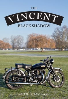 The Vincent Black Shadow is a name that resounds whenever classic bikes are discussed. The Vincent company were already advertising their existing Rapide machine as 'The world's fastest production motorcycle' when, in February the Black Shadow was a Custom Motorcycle Helmets, Motorcycle Logo, Motorcycle Posters, Motorcycle Engine, Motorcycle Accessories, Women Motorcycle, Classic Motorcycle, British Motorcycles, Cool Motorcycles