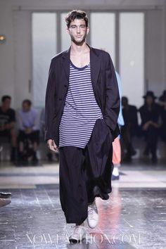 Yohji Yamamoto Menswear Spring Summer 2013 Paris