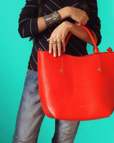 I believe Red Bags add this Attractive Sense to any outfit  Check the coming post for the full Look.  #ElZayanLookBook #stylist #fashion #fashionblogger #outfitpost #fashiondaily #fashionista #fashiongram #fashionstylist #fashiondiaries #style #styleblogger #styleinspiration #stylegram #styleguide #picoftheday #photooftheday