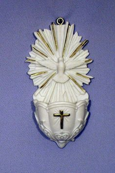 Holy Spirit Dove Jesus Water Font
