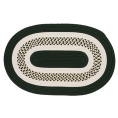 Colonial Mills Fenway Reversible Indoor Outdoor Rug, Green