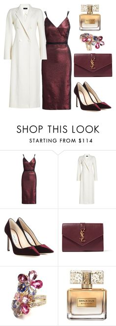 """93"" by vicinogiovanna ❤ liked on Polyvore featuring Cinq à Sept, Joseph, Jimmy Choo, Yves Saint Laurent, Bulgari, Givenchy, NewYears, NewYearsEve and Christmasoutfit"
