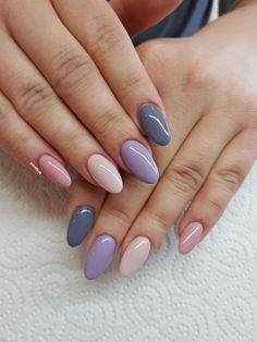 Are you looking for summer nails colors designs that are excellent for this summer? See our collection full of cute summer nails colors ideas and get inspired! Cute Acrylic Nails, Cute Nails, My Nails, Dark Nails, Spring Nail Colors, Spring Nails, Summer Nails, Stylish Nails, Trendy Nails