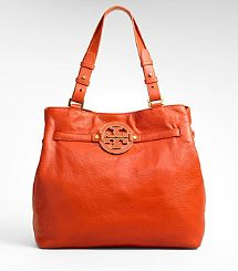 Tory Burch Amanda Tote New Handbags, Tote Handbags, Tory Burch Bag, Orange Bag, Everyday Bag, Leather Purses, Satchels, Hello Gorgeous, Purses And Bags