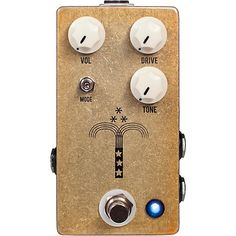 JHS Pedals Morning Glory Transparent Overdrive Guitar Effects Pedal