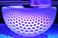 Dupin Cycloid Vase by @Dizingof 3D printed by parametric   art http://www.ponoko.com/showroom/Dizingof/profile http://parametric-art.com