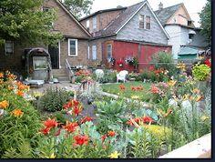 Delray Michigan Hungarian | island zug island bridge svent janos delray back garden delray