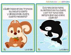 Preciosas adivinanzas animales para aprender y decorar - Imagenes Educativas Tongue Twisters, Preschool Education, Teaching Aids, Math For Kids, Exercise For Kids, Learning Spanish, Homeschool, Baby Shower, How To Plan