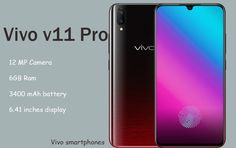 Vivo v11 Pro Features, Price in India, release date, battery, specification. Vivo v11 Pro colours, display, mobile, Howtrending full specs