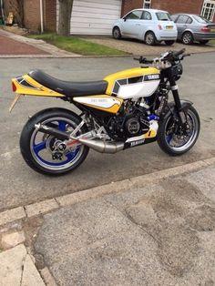 Yamaha RD350 LC Hybrid Motorbike