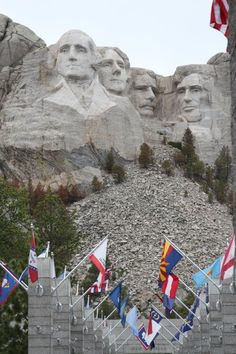 Mount Rushmore, South Dakota   One of my favorite places to visit after Mom died...she always wanted to go there, so took my dad....