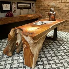 Wonderful Tree Stump Furniture Ideas Tree Stump Tables – Custom Furniture For High-End Interior Design Wonderful Tree Stump Furniture Ideas. Tree stump tables are prized for many reasons, not… Tree Stump Furniture, Live Edge Furniture, Log Furniture, Unique Furniture, Furniture Design, Furniture Ideas, Furniture Cleaning, Furniture Dolly, Wood Creations