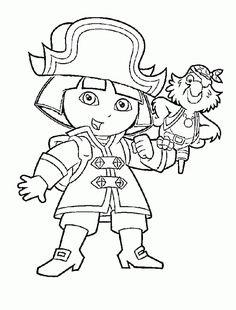 Dora The Explorer Pirate Adventure on Vimeo | Nick Jr | Pinterest ...