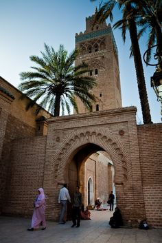 Marrakech, Morocco! Loved living in the Red City with the blend of cultures and experiencing ancient surroundings
