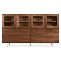 Hudson Cabinet with Steel Base - Cabinets & Armoires - Dining - Room & Board
