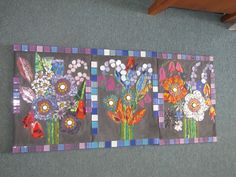 mosaics by KAT GOTTKE  called Inspired by Shelley ,, sept 2012