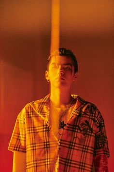 T Magazine China features Kris Wu in a Vintage check shirt and printed T-shirt from the new collection. Kris Wu, Chanyeol, K Pop, Rapper, Wu Yi Fan, Exo Members, Chinese Boy, Models, Boy Bands