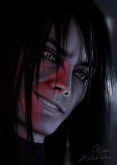 Orochimaru. Creepy...