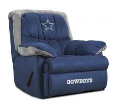 Dallas Cowboys recliner!! Oh YEAH!!