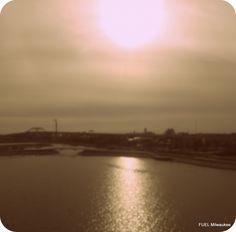 The MKE sunset~ Nov '13
