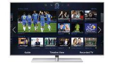 Six Samsung TVs with Smart Hub: Smart TV  #SmartTV #TV #Samsung