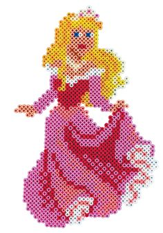 Princess Aurora (Sleeping Beauty) - HAMA mini 7992