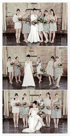 Love these bridal party shots by The Lovely Lens