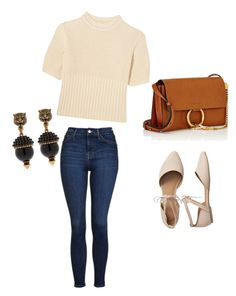 """Untitled #81"" by mikai-toot on Polyvore featuring Totême, Topshop, Gap, Chloé and Gucci"