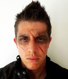 Halloween Makeup Tutorial Male Post Apocalyptic Look