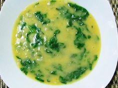 Imagem da receita Sopa de grão-de bico com espinafre