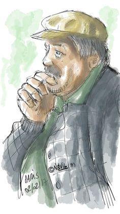 Penseur breton en pleine réflexion.