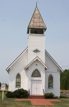 Saint John's Chapel, Tilghman, Island, Maryland..the only place I would ever want to have a wedding!