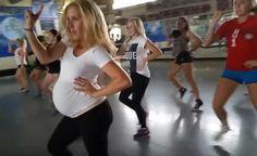 Grávida de 27 semanas dá show de dança em vídeo